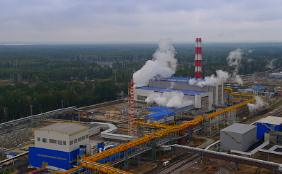 Green power generation at the Lipetsk site