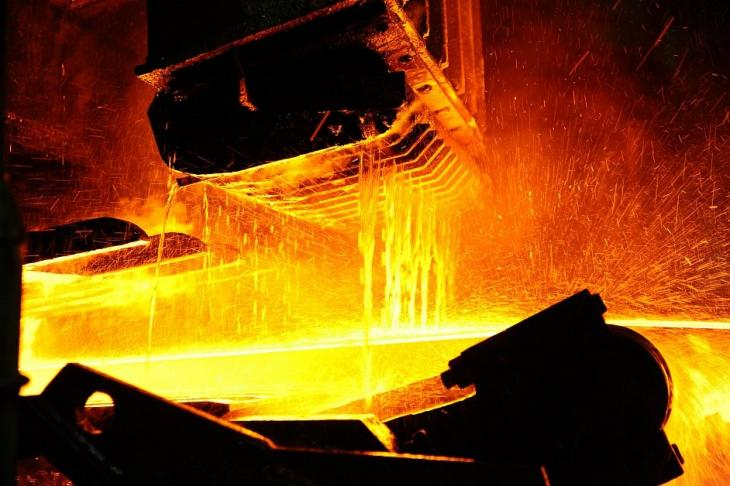 Hot-rolled steel production